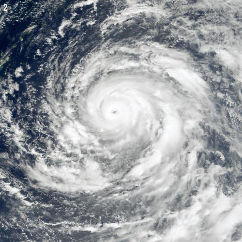 Storm - Typhoon Saomai, China